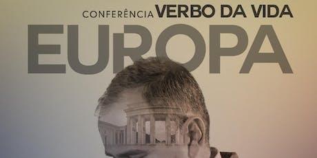 Conferência Verbo da Vida Europa 2019 bilhetes