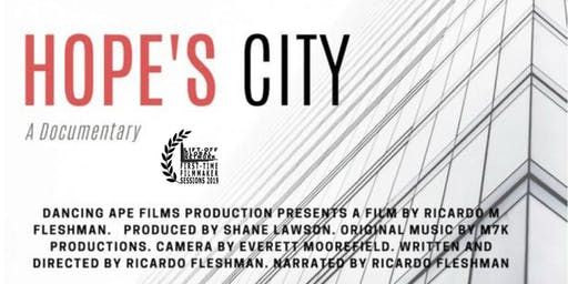 Hope's City Film Premier Screening