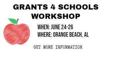 Grants 4 Schools Workshop @ Orange Beach