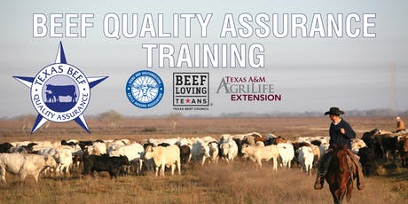 Beef Quality Assurance Training tickets