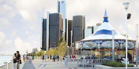 Detroit Riverfront Past, Present & Future Walking Tour tickets