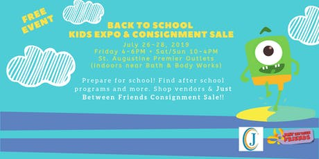 Back to School Kids Expo & Consignment Sale tickets