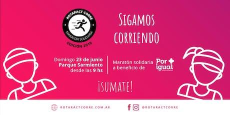 Maratón Solidaria Rotaract Corre 2019 entradas