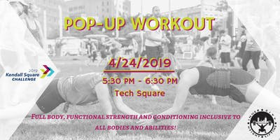 KSA Presents: Kendall Square Pop-Up Workout