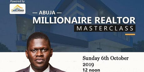Millionaire Realtor Master Class tickets