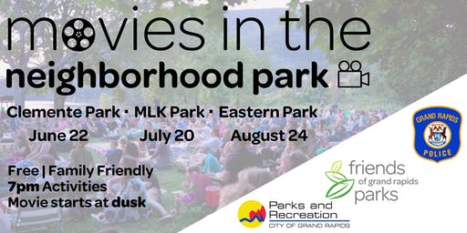 Movies In The Neighborhood Park Vendor Sign-Up