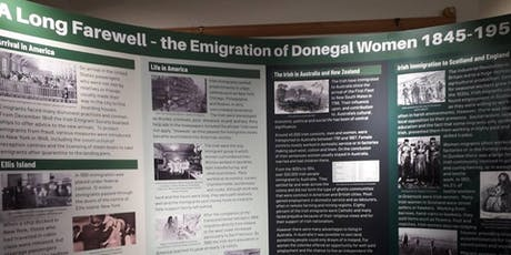A Long Farewell - Emigration of Donegal Women 1845-1950 tickets