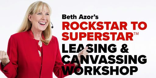 Rockstar to Superstar Leasing & Canvassing Workshop - 10/16
