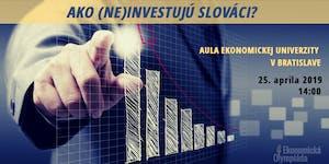 Ako (ne)investujú Slováci?