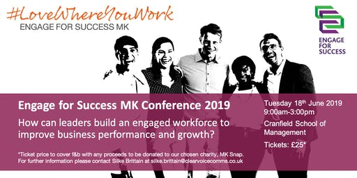 Engage for Success MK Conference