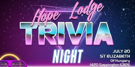 Trivia Night Fundraiser for American Cancer Society Hope Lodge St Louis tickets