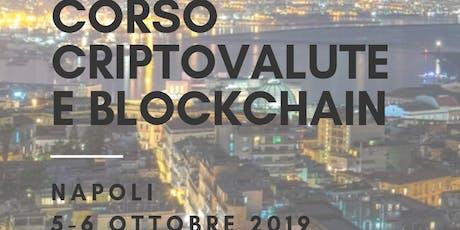 Corso criptovalute e blockchain NAPOLI biglietti