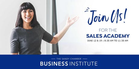 Sandy Area Chamber Sales Academy tickets