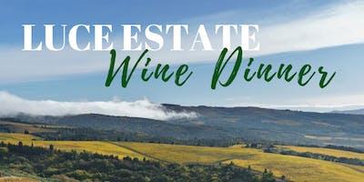 Luce Estate Wine Dinner