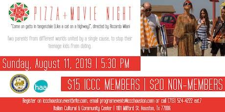 """Pizza + Movie Night: """"Come un gatto in tangenziale"""" tickets"""