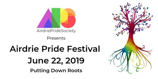 AIRDRIE PRIDE FESTIVAL 2019 - DONATIONS AND BOOTH REGISTRATION