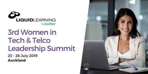 3RD WOMEN IN TECH & TELCO LEADERSHIP SUMMIT