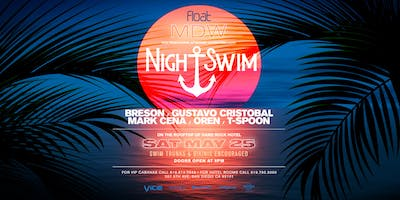 Night Swim Pool Party at Hard Rock Hotel - Memorial Day Weekend