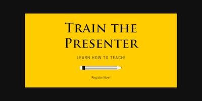 Train the Presenter- Benson Training Center