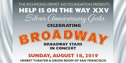 Help is on the Way XXV: Celebrating Broadway