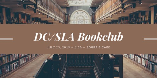 DC SLA Nonfiction book club: The Library Book by Susan Orlean
