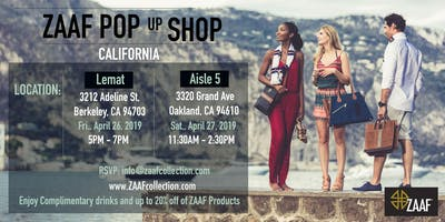 ZAAF POP-UP SHOP | Oakland