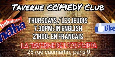 Taverne Comedy Club : UK/US Version in Paris !