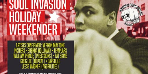 Soul Invasion Weekender - Value Admission Pass