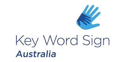 Basic Full Day Key Word Sign Workshop (04.05.2019)