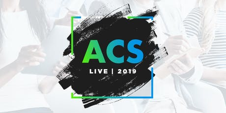 ACS Live 2019 tickets