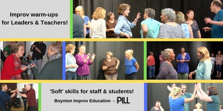 Create Inclusive Classrooms - Improv Warm-ups for Leaders & Teachers! tickets