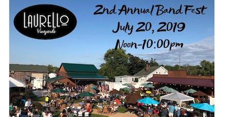 Laurello Vineyards 2nd Annual Band Fest tickets