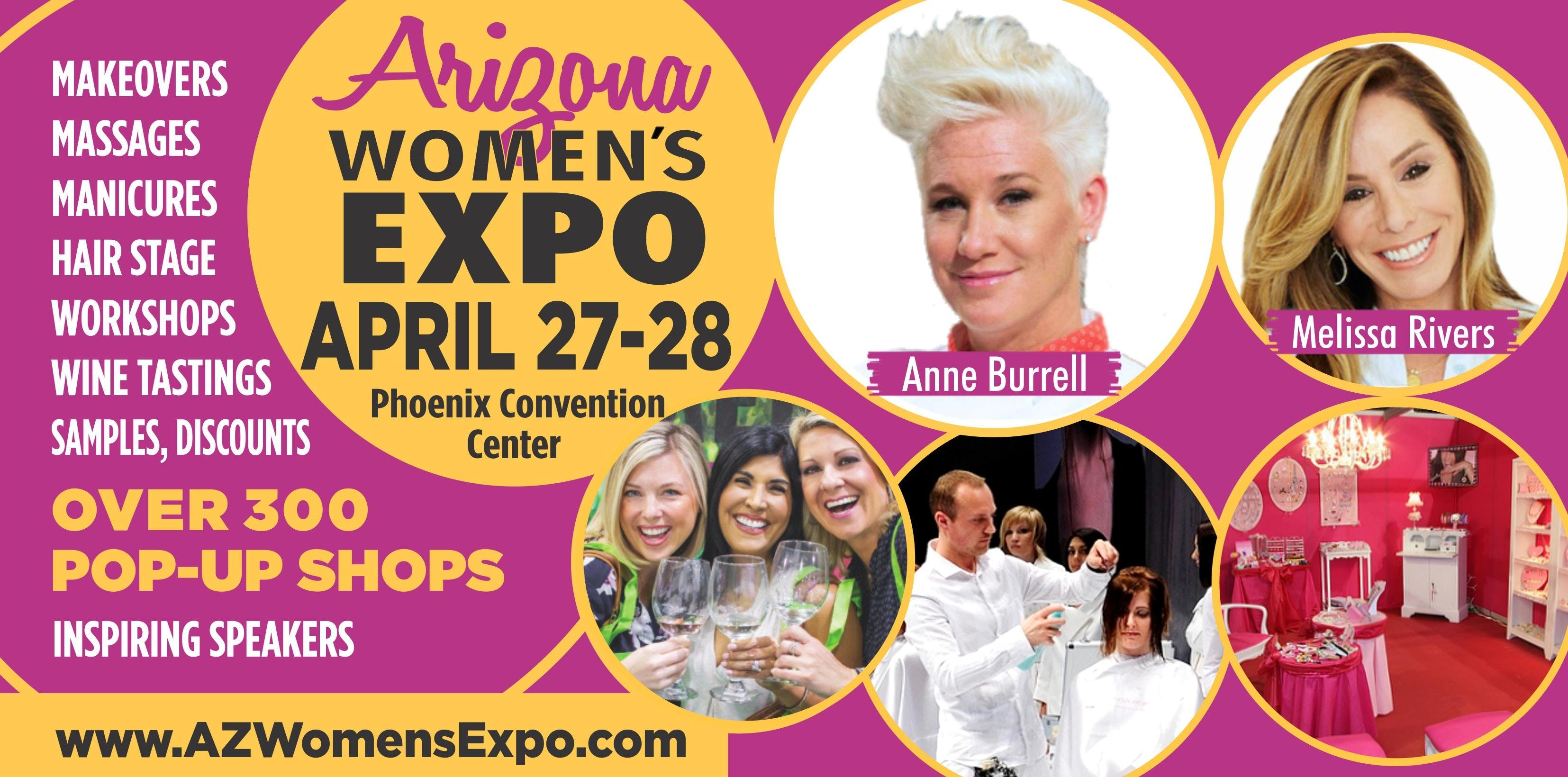 Arizona's Ultimate Women's Expo April 27-28, 2019