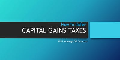 How to Defer Capital Gain Tax
