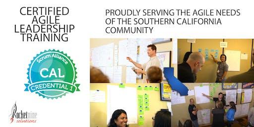 Certified Agile Leadership Training (CAL I) - Orange County - August 2019