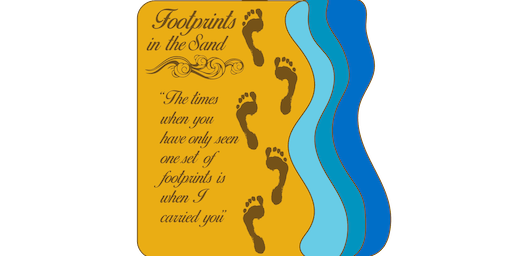 LIVE 2019 Footprints in the Sand 1 Mile, 5K, 10K, 13.1, 26.2 -Raleigh