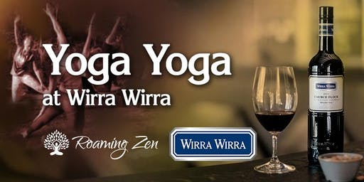 Yoga Yoga at Wirra Wirra Winery