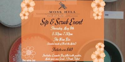 Sip & Scrub Event