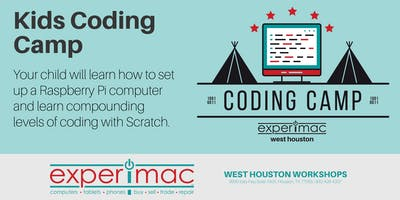 Kids Coding Camp: Using Scratch and Raspberry Pi - Experimac West Houston