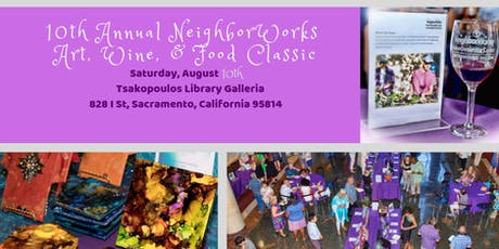 10th Annual NeighborWorks Art, Wine & Food Classic tickets