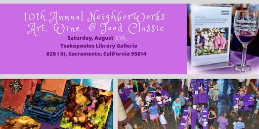 10th Annual NeighborWorks Art, Wine & Food Classic