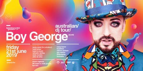 BOY GEORGE (DJ Set) Melbourne tickets