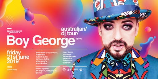 BOY GEORGE (DJ Set) Melbourne