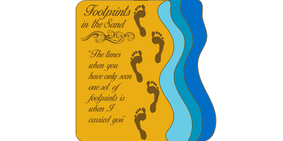 LIVE 2019 Footprints in the Sand 1 Mile, 5K, 10K, 13.1, 26.2 -Spokane