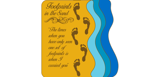 LIVE 2019 Footprints in the Sand 1 Mile, 5K, 10K, 13.1, 26.2 -Spokane