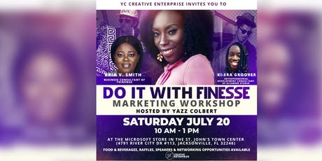 Do it With Finesse: Marketing Workshop tickets