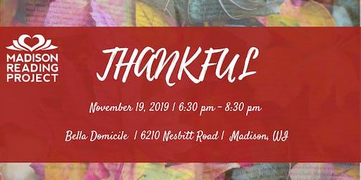 2019 Thankful