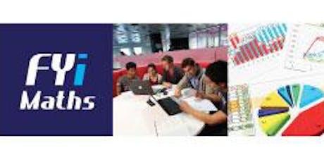 FYiMaths 2019 Workshop tickets