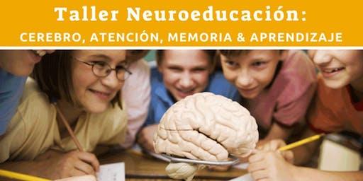 Taller Neuroeducación: Cerebro, atención, memoria y aprendizaje (Arecibo)