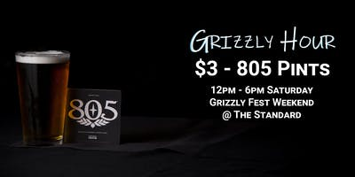 Grizzly Hour - Pre-Party With 805